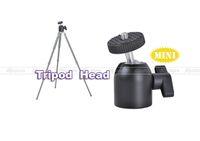 trípode de tornillo de luz al por mayor-Mini trípode Ballhead Ball Head w / 1/4