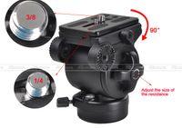 weifeng stative großhandel-Kugelkopf BallHead Pro WEIFENG FT-717AH Video DSLR Camcorder Flüssigkeit Stativkopf Ziehen Griff PK002