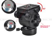 ingrosso treppiedi weifeng-Testa a sfera BallHead Pro WEIFENG FT-717AH Videocamera video DSLR Fluid Testa a treppiede Maniglia trascinabile PK002
