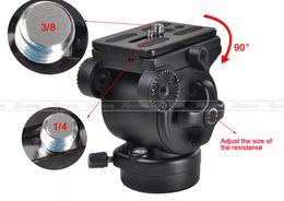 Tripod Canada - Ball Head BallHead Pro WEIFENG FT-717AH Video DSLR Camcorder Fluid Tripod Head Drag Handle PK002