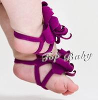 baby shoe ornaments 도매-10pairs (20pcs) TOP BABY 샌들 / 맨발 샌들 발 장식품 양말 보호기 신발 커버 양말 친구