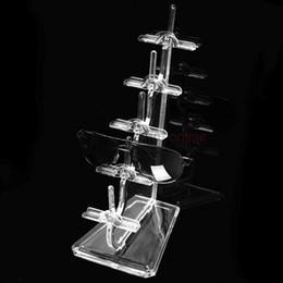 Wholesale Sunglass Holder Rack - New 5 Layer Store Retail Sunglass Glasses Holder Hanger Stand Rack Display Shelf