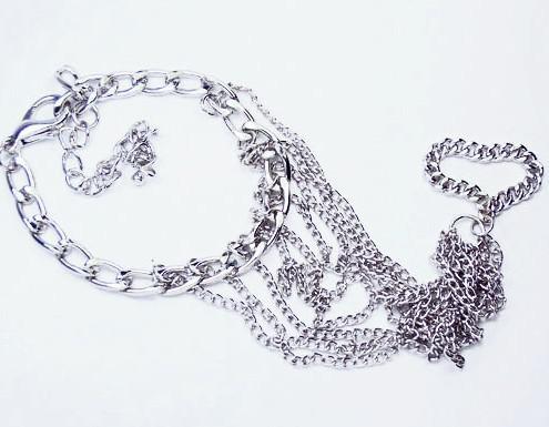 Armband Modig ringkedja Bracelet Band Ring