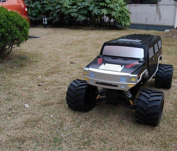 1 4 4x4 35cc gas monster truck rtr rc car model gifts radio control cars for sale new remote. Black Bedroom Furniture Sets. Home Design Ideas
