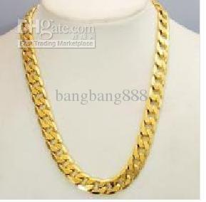Wholesale thick heavy mens chain 14k yellow gold necklace jewelry wholesale thick heavy mens chain 14k yellow gold necklace jewelry silver locket mens pendants for necklaces from bangbang888 6835 dhgate aloadofball Image collections
