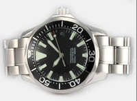 Wholesale classic dive watches resale online - fashion Black dial classic style men s automatic wristwatches stainless steel mens Sea dive business Master watches
