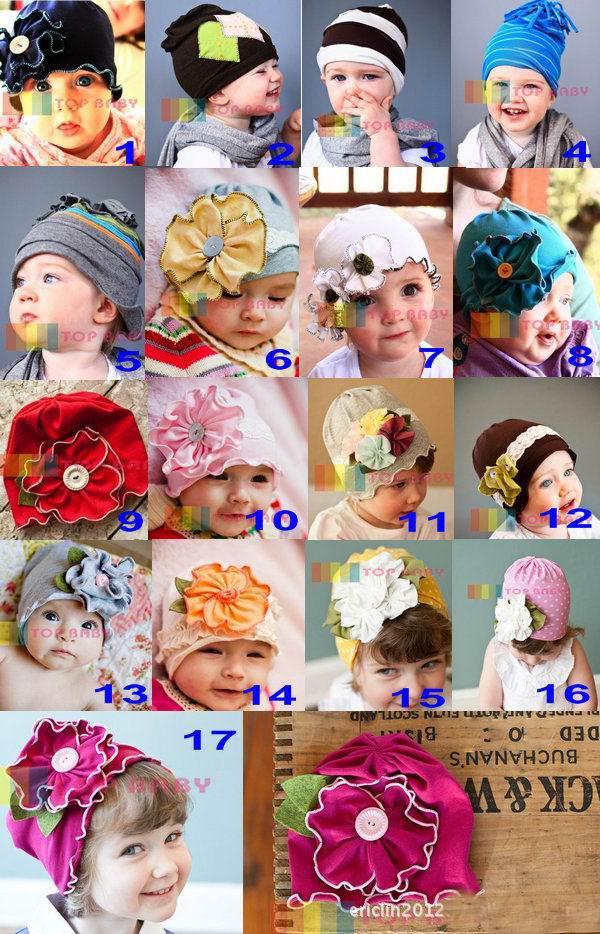 sombreros lindos dulces, / sombreros lindos de los niños, niñas y niños, dandys