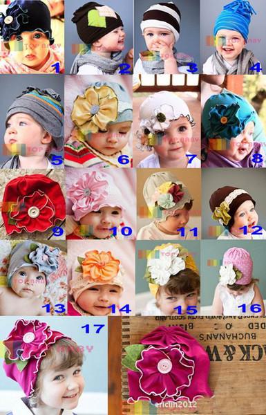 sombreros lindos dulces, 20pcs / lot, sombreros lindos de los niños, niñas y niños, dandys