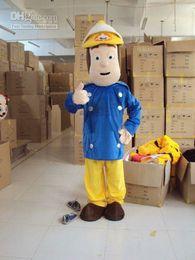Wholesale Fireman Adult Mascot Costume - EPE New Professional Fireman Sam Mascot Costumes Fancy Dress Halloween Party Children Adult Size