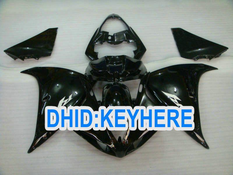 YNL101 black Motorcycle fairing kits for YAMAHA 2009 2010 2011 YZF 1000 YZF R1 YZFR1 09 10 11