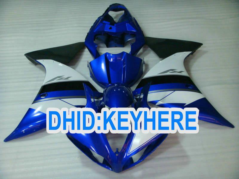 YNL103 Blue Motorcycle fairings kit for YAMAHA YZF R1 2009 2010 2011 YZF 1000 YZF-R1 09 10 11