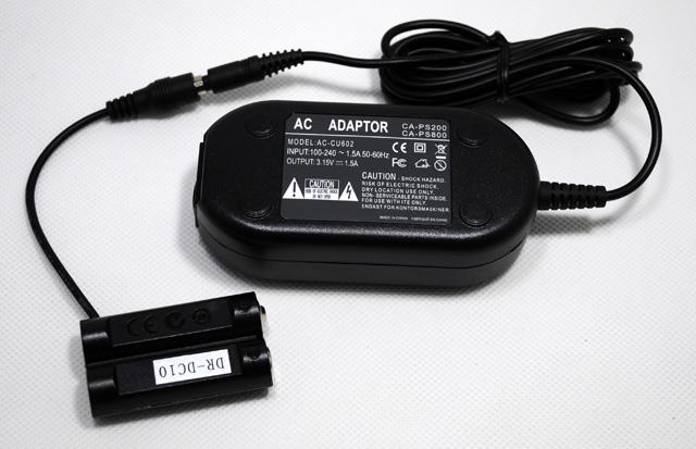 Fuente de alimentación-adaptador para Canon PowerShot sx110 is SX 110 is