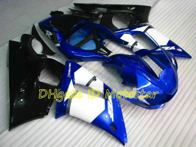 698BL-Karosserie-Verkleidungs-Kit für Yamaha YZF R6 1998 1999 2001 2002 YZF-R6 YZFR6 600 98 99 00 01 02