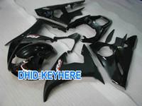 Wholesale Custom Fairings For Motorcycles - Shiny&matt black Custom motorcycle fairing kits for YAMAHA YZF R6 2003 2004 YZF-R6 03 04 YZFR6 03 04