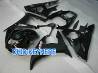 Wholesale custom fairing kits for yamaha for sale - Group buy Shiny matt black Custom motorcycle fairing kits for YAMAHA YZF R6 YZF R6 YZFR6