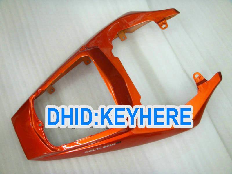 YNL122 Skräddarsy Orange ABS Plastmakare för Yamaha YZF-R6 2003 2004 YZF-R6 YZFR6 03 04