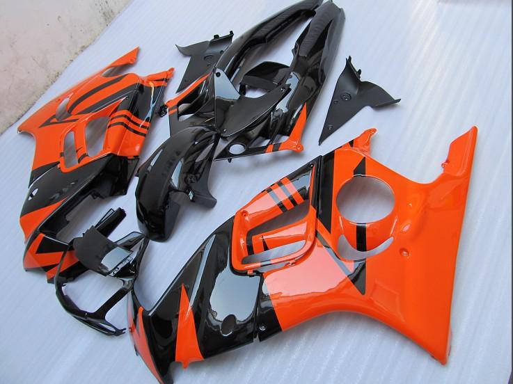 ABS Plastikowy Pomarańczowy Zestaw do obróbki dla Honda CBR600 F3 95 96 CBR600F 1995 1996 Body naprawy Części CBR 600 F3