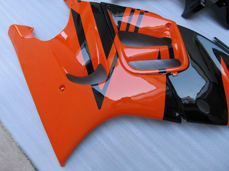 ABSプラスチックオレンジフェアリングキットホンダCBR600 F3 95 96 CBR600F 1995 1996ボディ修理フェアリング部品CBR 600 F3