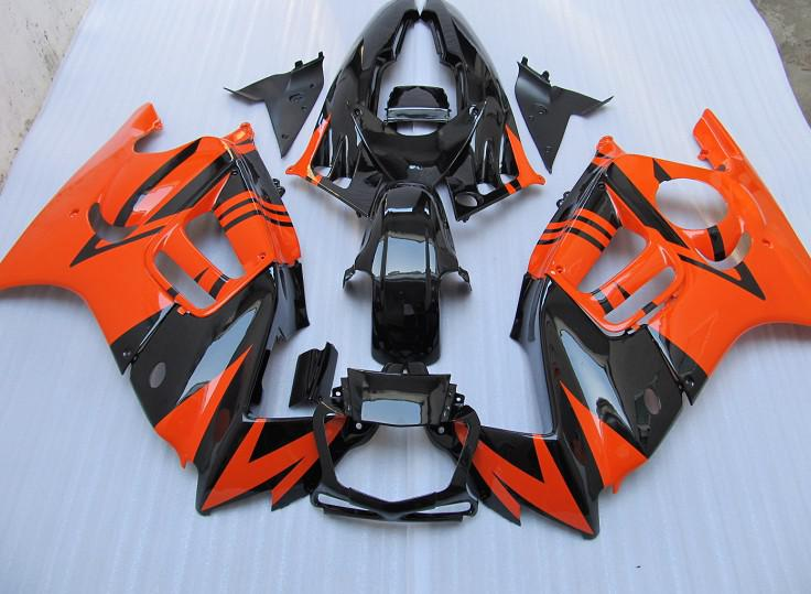 ABS-Kunststoff-orange Verkleidungs-Kit für Honda CBR600 F3 95 96 CBR600F 1995 1995 Body Repair Fostings Teile CBR 600 F3