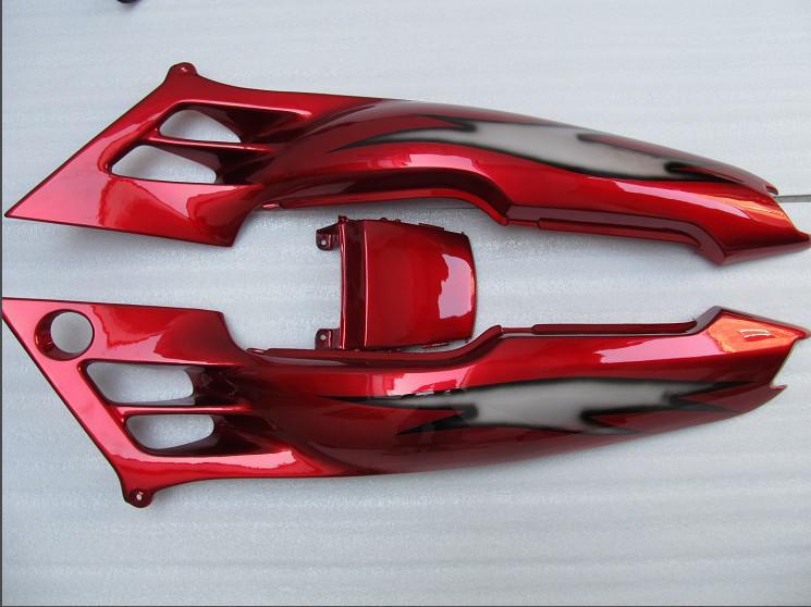Gratis Anpassa Red Fairing Kits för Honda CBR600F3 95 96 CBR600 F3 1995 1996 CBR 600F3 Aftermarket Fairings Kit
