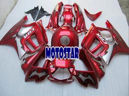 Honda F3 Fairing Kit Canada - Free customize Red Fairing kits for honda CBR600F3 95 96 CBR600 F3 1995 1996 CBR 600F3 aftermarket fairings kit