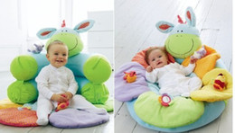 Wholesale Baby Sofa Play - ELC Blossom Farm Sit Me Up Cosy-Baby Seat Baby Play Mat Play Nest Soft Sofa Green Color
