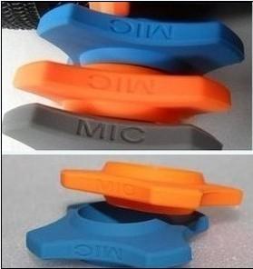 有線/無線マイクロホン非スリップリングマイクロホンドロップ抵抗円六角滑り止めリング