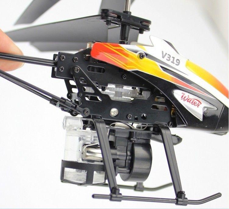 V319 yılında yeni su jeti uçak 3.5-kanallı uzaktan kumanda uçak helikopter gyro uçak