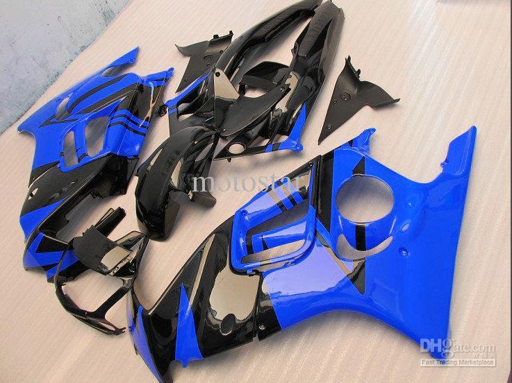 고품질 블루 블랙 혼다 용 페어링 CBR600F3 95-96 CBR600 F3 1995 1996 CBRF3 오토바이 페어링 키트 CBR 600 F3 95 96