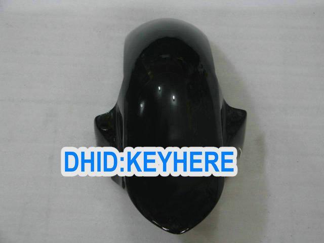 Guldflamma i svart fairing kit för Yamaha 2006 2007 YZF-R6 YZF 600R YZF R6 06 07 Fairings Bodykit