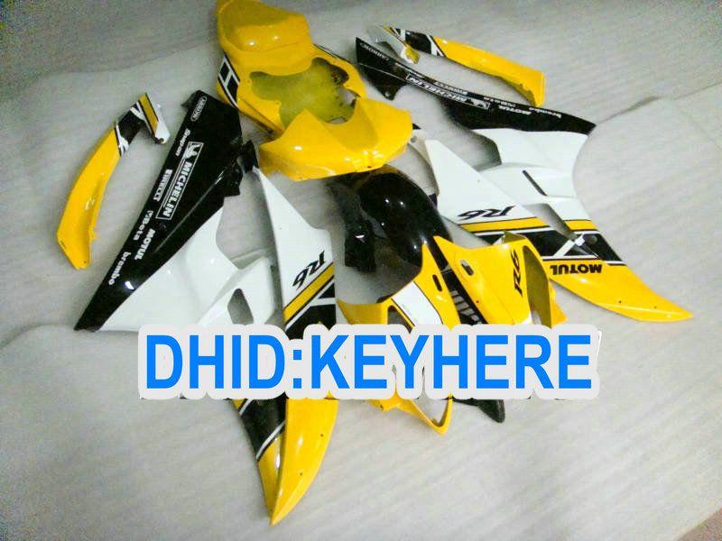 Kit carénage racing jaune clair pour YAMAHA YZF-R6 2006 2007 YZF 600 YZF R6 06-07