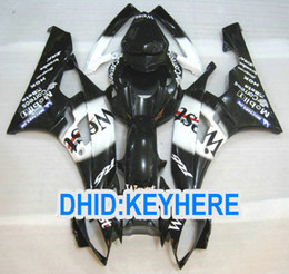 Discount motorcycle r6 body kit - Fairing kit for YAMAHA YZFR6 2006 2007 YZF 600 YZF-R6 06 07 Black west motorcycle racing body work