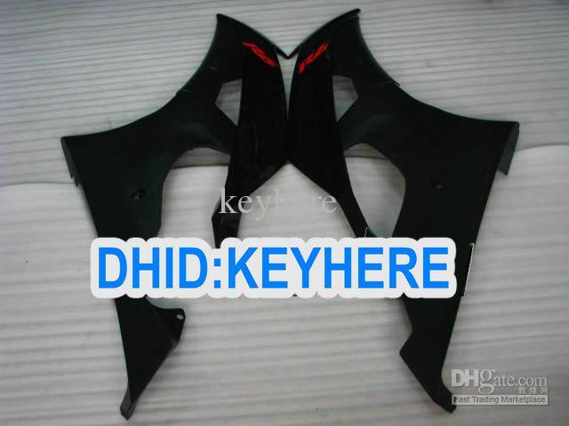 YNL171 todos kit de carenagem de corrida preto para YAMAHA YZF-R6 2008 2009 2010 YZF R6 08-10 YZFR6 08 09 10