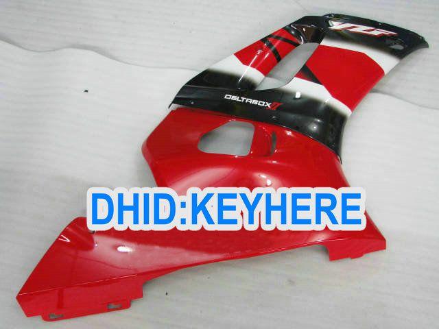 YNL177 YAMAHA YZF R6 용 레드 ABS 페어링 키트 1998-2002 YZF-R6 98 99 00 01 02 YZF R6 차체 부품