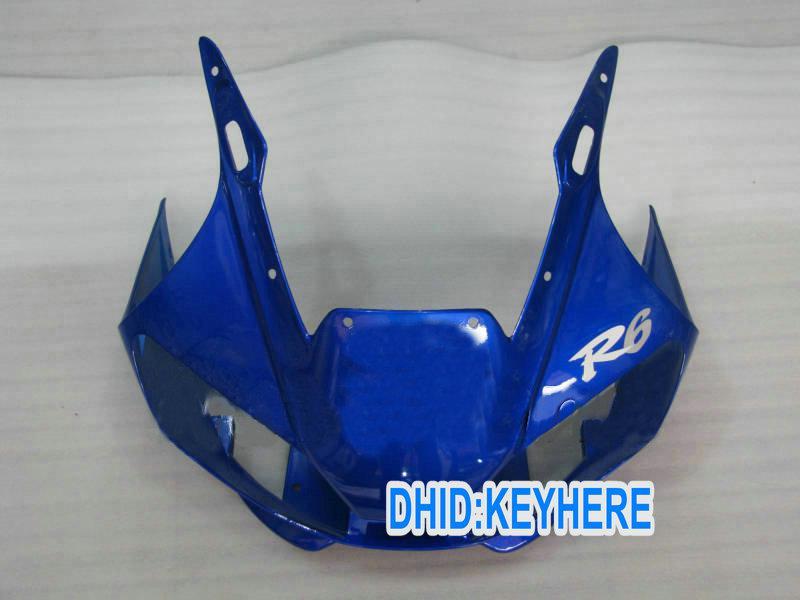 YNL178 Blue ABS carenado kit para YAMAHA YZF R6 1998-2002 YZF-R6 98 99 00 01 02 YZF R6 piezas de la carrocería