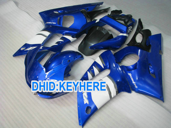 Custom Blue ABS fairing kit for YAMAHA YZF R6 1998-2002 YZF-R6 98 99 00 01 02 YZF R6 bodywork parts