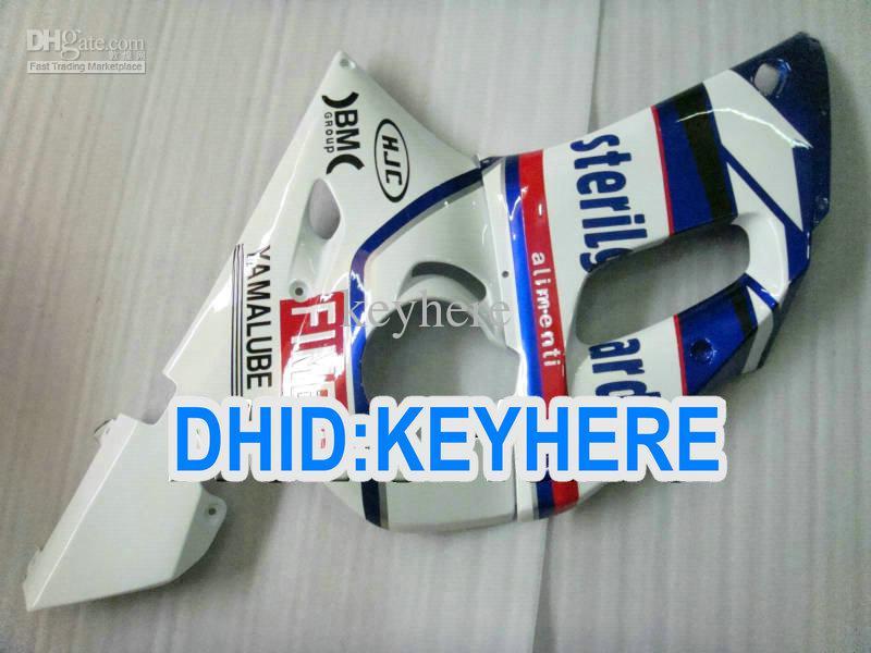 YNL189 Bluewhite Kit de carenado para YAMAHA YZF R6 1998-2002 YZF-R6 98 99 00 01 02 Conjunto de carrocería YZF600