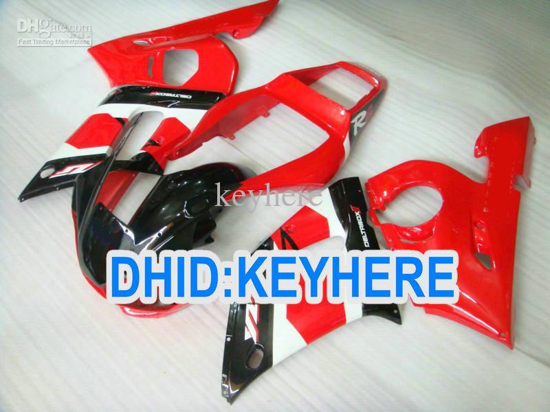 YNL190 RED Racing Kit de carénage pour YAMAHA YZF R6 1998-2002 YZF-R6 98 99 00 01 de carrosserie YZF600