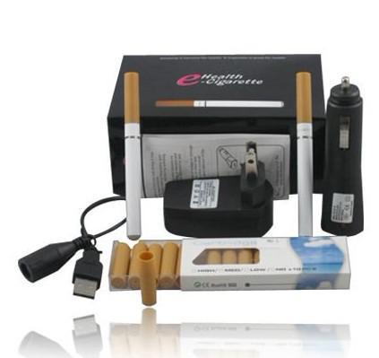 Çift V9 sağlık E-Sigara Elektronik Sigara perakende kutusu hfghhh ile beyaz sarı renk