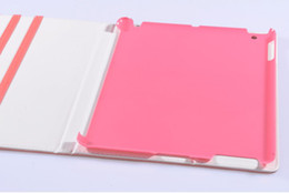 Ipad2 Cases Canada - 50pcs standby function function leather case cover stand for ipad2 ipad3