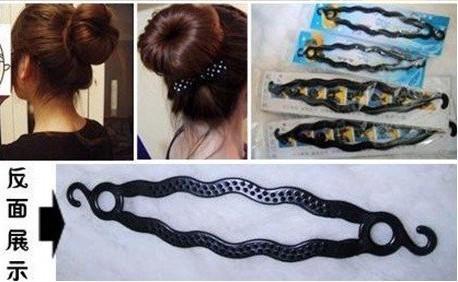 Nieuw!! Magic Hair Roller Sieraden Twist Stijl DIY Maker Tools Haaraccessoires (geen papieren kaart) .160pcs