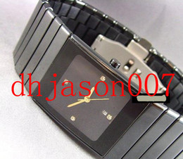 Discount black box ceramics - BOX +booklet luxury black ceramic men's fashion luxury battery watch jubilee mens watches wristwatch