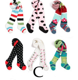 Wholesale Panty Hose Tights Girl - Girl's baby pants socks stockings trousers kids pantynose Leggings panty-hose 18PCS