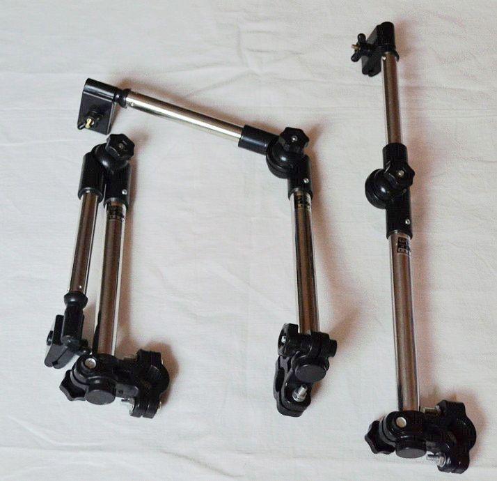 Rostfritt stål Cykel Paraply Stativ Paraplyhållare Barnvagn Stativ, / Gratis Shippin