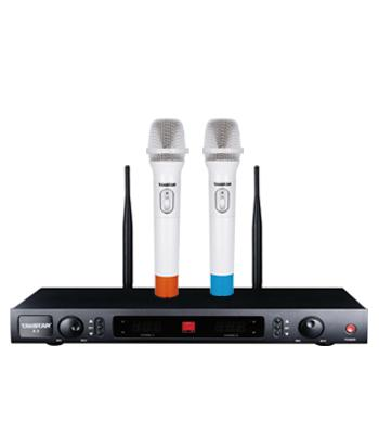 Hot Sell Top Boutique TAKSTAR X2 UHF Wireless Microphone System Professional Karaoke Microphone Mic
