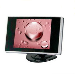 Wholesale Color Rear View Camera - 3.5 inch Car monitor 01 Color TFT LCD 2 Channel Car Rear View Reverse Camera Monitor