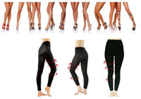 Wholesale Hip Shape Up - Women Overnight Slimming Socks Leggings Shaping Leg Stocking 50pcs lot