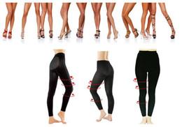 Wholesale Leg Slimming Socks - Women Overnight Slimming Socks Leggings Shaping Leg Stocking 50pcs lot