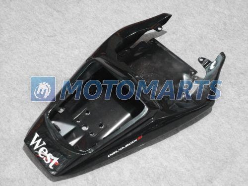 Yamaha Yzf R6 2003 2004 2005 YZF-R6 03 04 05 YZFR6 600 03-05에 대한 화이트 블랙 웨스트 페어링 키트