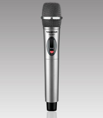 Hot UHF Sem Fio Takstar TS-8807 Único Microfone Sem Fio à Mão Não inclui receptor